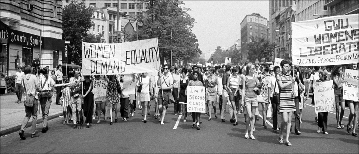 an analysis of the half a century before the feminist movement of the 1960s Through the first wave of the women's rights movement, which ended when women gained the right to vote in 1920, through the second wave of the new women's movement, which began in the 1960s, and the contemporary third wave, women's movements in the united states have been linked to the struggles for civil rights for african americans the 1964.